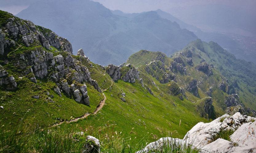 Monte Due Mani Panorama